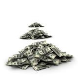 Falling Money dollars