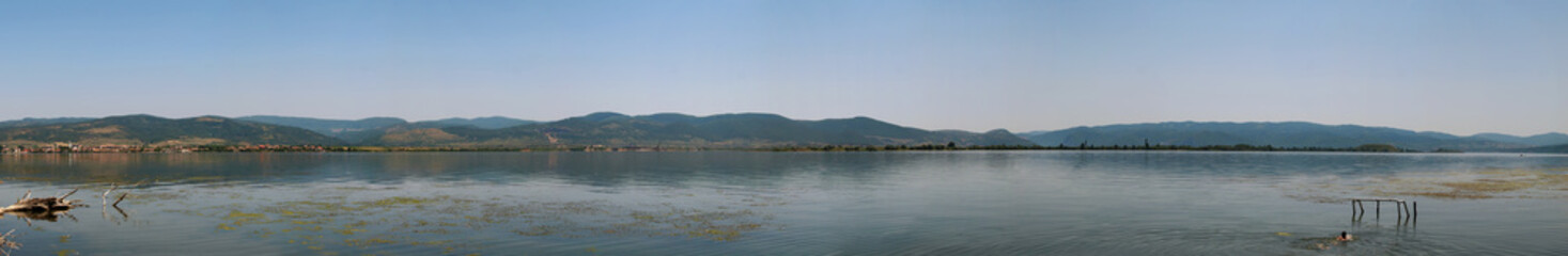 XXXXL panoramic image of River Danube