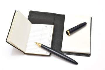 Penna, rubrica e block notes