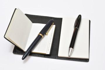 Penne, rubrica e block notes