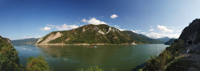 river danube panorama