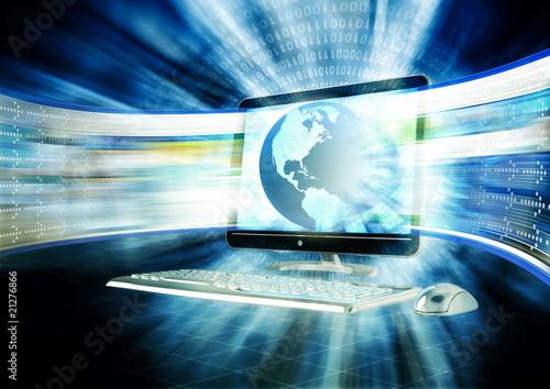 Broadband Internet Concept