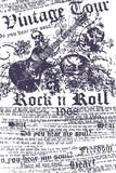 Fototapety music guitar poster