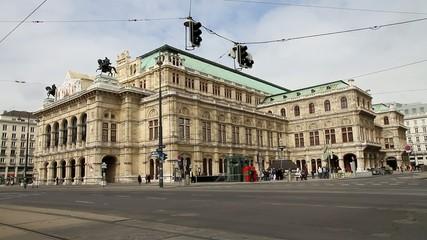 Wiener Staatsoper - Ansicht Opernring und Operngasse
