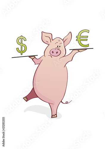 funny piggy-bank