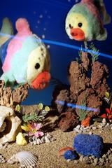 pesci peluche