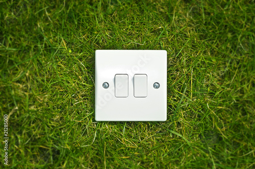 Light switch outside