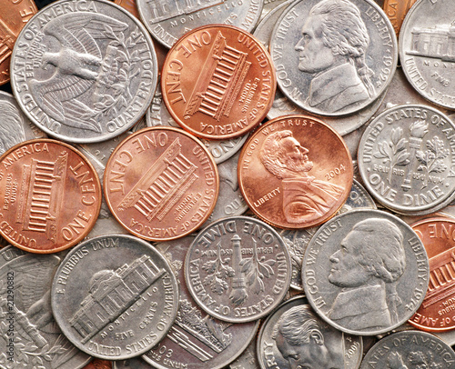 Dollar and Cent Coins - US Currency