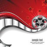 Fototapety Background with Cinema Motives