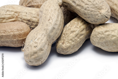 Peanuts in the Shell Closeup
