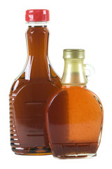 Syrup in Bottles