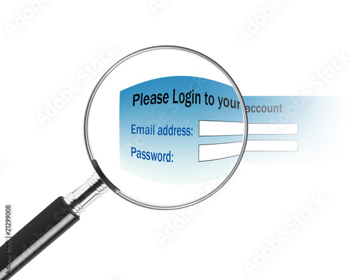 Email address and password