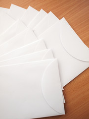 A pile of envelopes