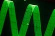 Leinwanddruck Bild - Oszilloskop