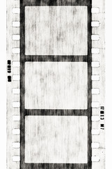 BW film strip