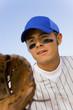 baseball infielder playing