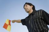 Linesman Waving Flag
