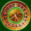 Illustration of detailed casino roulette wheel - 21309048