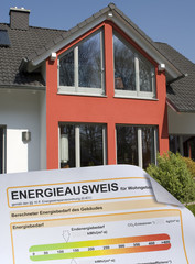 Energieausweis und Wohnhaus