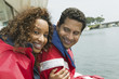 couple on yacht (portrait)