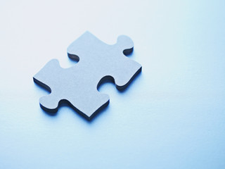 One jigsaw puzzle piece