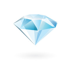 vector diamond isolated