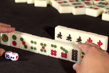 Popular mah jong game