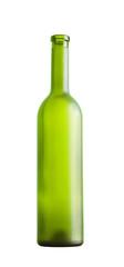 wine bottle on a white background