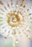Defocused gold decoration