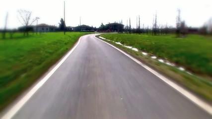 strada campagna veloce