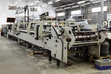 repair of old printing equipment