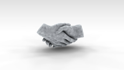 Handshake Sculpture