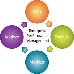 Enterprise performance business diagram