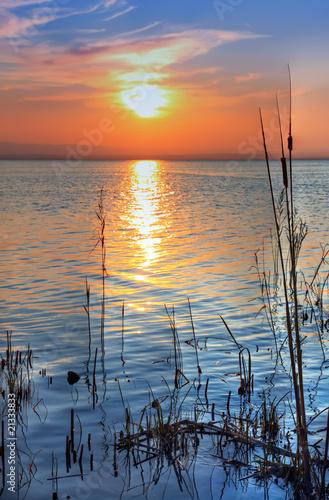 Fotobehang Een Hoekje om te Dromen mar azul