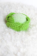 Knitted cabbage