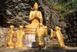 Buddhas auf dem Berg Phousi in Luang Prabang (Laos)
