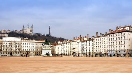Lyon Main square