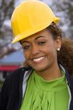 Female Construction Supervisor poster
