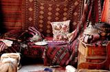 Carpet bazaar in Cappadocia, Turkey poster