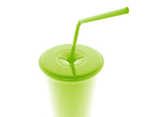 Fastfood cup illustration