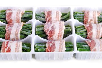 Cuisine pratique - haricots vert surgelés emballés