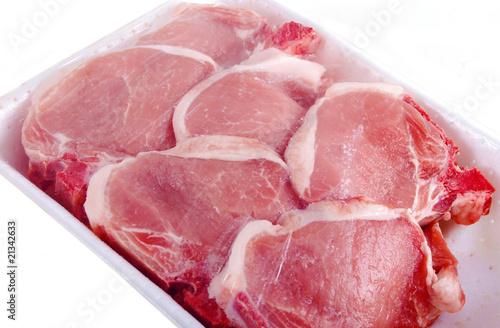 6 Côtelettes de veau dans leur emballage