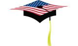 Graduation  America hight school. poster