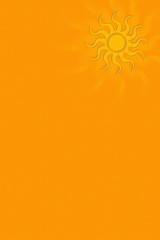 Hintergrund mit Sonne