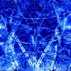computer generated blue abstract background