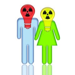 Radioactive Couple
