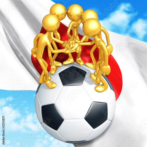 Gold Guy Football Soccer