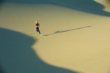 Runner on Dunes