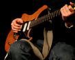 Spiel mit der Gitarre
