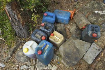 chemical bins